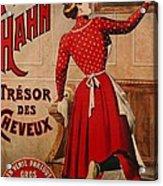 Petrole Hahn Acrylic Print