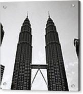 Petronas Dusk Acrylic Print