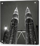 Petronas Towers At Night Acrylic Print