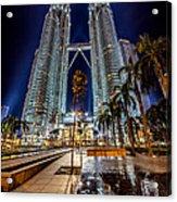 Petronas Twin Towers Acrylic Print
