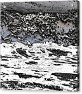 Pewter Martian Sea Acrylic Print