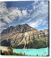 Peyto Lake Acrylic Print