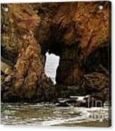 Pfeiffer Beach Rocks In Big Sur Acrylic Print