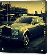 Rolls Royce Phantom Acrylic Print