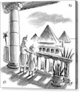 Pharaoh To Son Acrylic Print