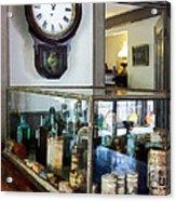 Pharmacist - Corner Drug Store Acrylic Print