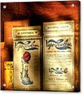 Pharmacist - Medical Cures Acrylic Print