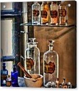 Pharmacist - Medicine Bottles Acrylic Print