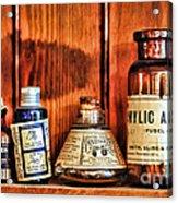 Pharmacy - Cocaine In A Bottle Acrylic Print