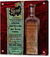 Pharmacy - Cold Remedy Acrylic Print