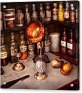 Pharmacy - Items From The Specialist Acrylic Print