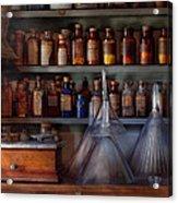 Pharmacy - Master Of Many Trades  Acrylic Print