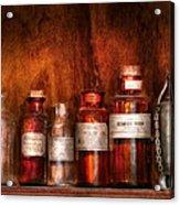Pharmacy - Pharmacist's Fancy Fluids Acrylic Print