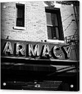 Pharmacy - Storefronts Of New York Acrylic Print