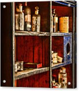 Pharmacy - The Back Room Acrylic Print