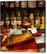 Pharmacy - The Dispensary  Acrylic Print by Mike Savad