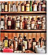 Pharmacy - The Medicine Shelf Acrylic Print