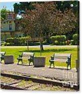 Phelps Ny Train Station Acrylic Print