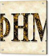 Phi Eta Mu - Parchment Acrylic Print