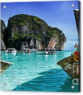 Phi Phi Islands Acrylic Print by Shannon Rogers