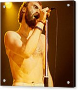 Phil Collins Of Genesis At Oakland Coliseum Acrylic Print