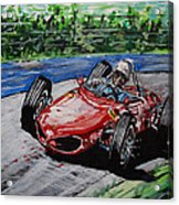 Phil Hill At Nurburgring. Acrylic Print
