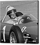 Phil Hill Ferrari Close Up Acrylic Print