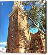 Philadelphia Christ Church Tower 1 Acrylic Print