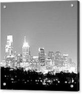 Philadelphia City Glow Acrylic Print