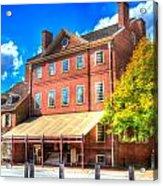 Philadelphia City Tavern Acrylic Print