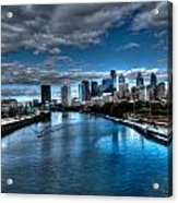 Philadelphia  Cityscape 2 Acrylic Print