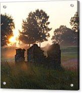 Philadelphia Cricket Club At Sunrise Acrylic Print by Bill Cannon