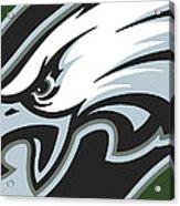 Philadelphia Eagles Football Acrylic Print