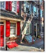 Philadelphia Elphreth's Alley Acrylic Print