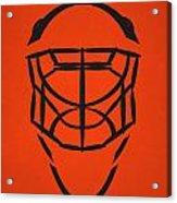 Philadelphia Flyers Goalie Mask Acrylic Print
