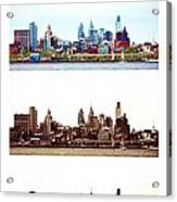 Philadelphia Four Seasons Acrylic Print