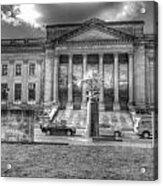 Philadelphia Franklin Museum 2 Bw Acrylic Print