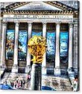 Philadelphia Franklin Museum Acrylic Print