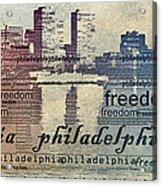 Philadelphia Freedom Acrylic Print
