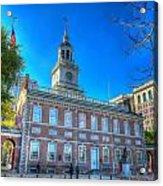 Philadelphia Independence Hall 9 Acrylic Print