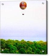 Philadelphia Zoo Balloon Over The Schuylkill River Acrylic Print