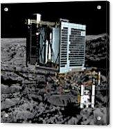 Philae Lander On Comet 67pc-g Acrylic Print