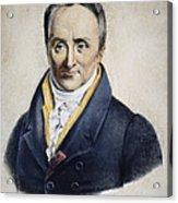 Philippe Pinel (1745-1826) Acrylic Print