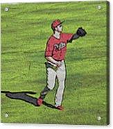 Phillies Catch Acrylic Print