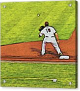 Phillies First Baseman Acrylic Print
