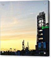 Phillies Stadium At Dawn Acrylic Print