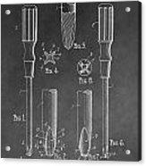 Phillips Screwdriver Patent Acrylic Print