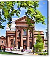 Philly Church View Acrylic Print