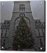 Philly City Christmas Acrylic Print