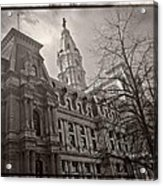 Philly City Hall Acrylic Print